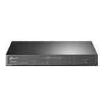 TP-LINK 10-Port Gigabit Easy Smart Switch with 8-Port PoE+