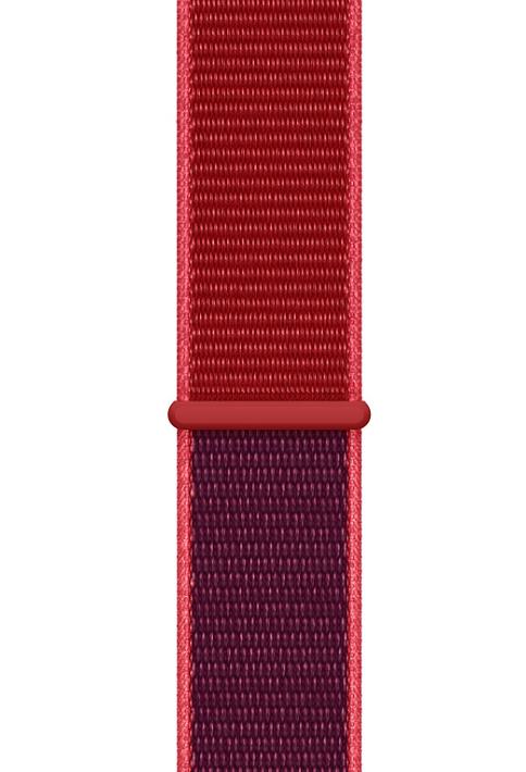 Apple MXHW2ZM/A accesorio de relojes inteligentes Grupo de rock Rojo Nylon
