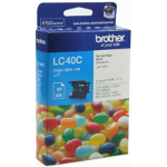 BROTHER LC-40C INKJET CARTRIDGE CYAN