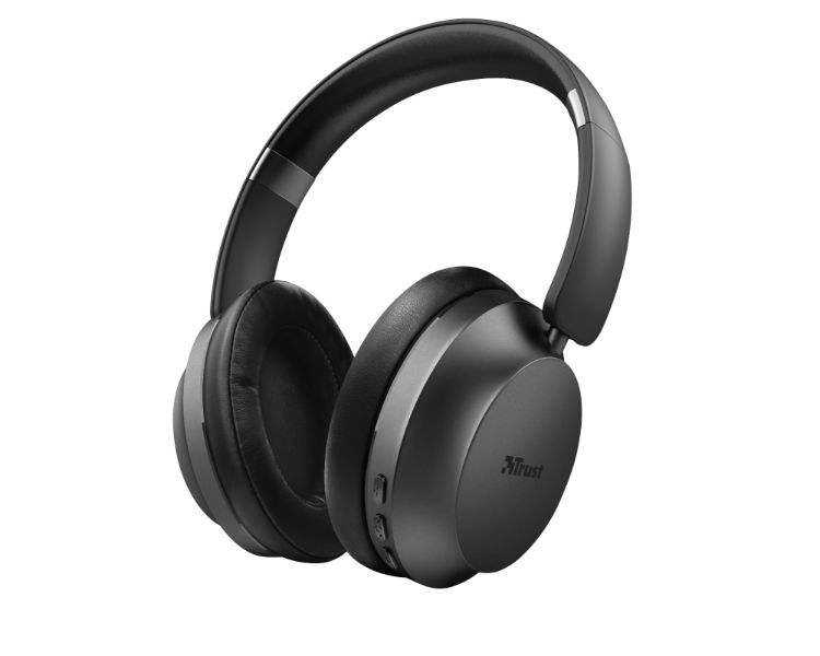 Trust 23550 auricular y casco Auriculares Diadema Negro