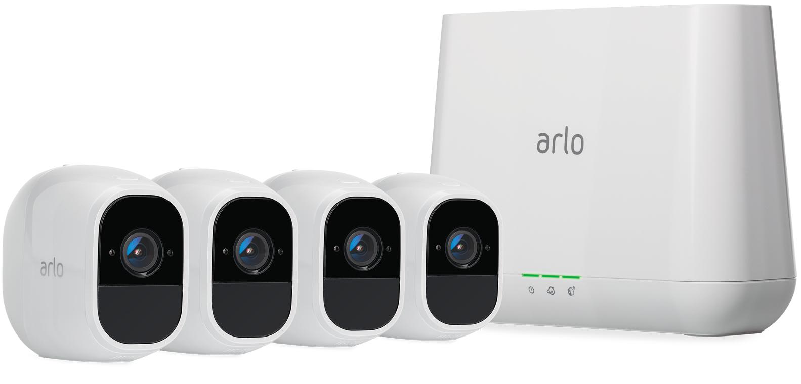 Arlo VMS4430P IP-beveiligingscamera Binnen & buiten Rond Plafond/muur 1920 x 1080 Pixels