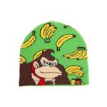 Nintendo Donkey Kong Bananas Kids Cuffless Beanie, One Size, Multi-colour (KCY10103NTN-53)