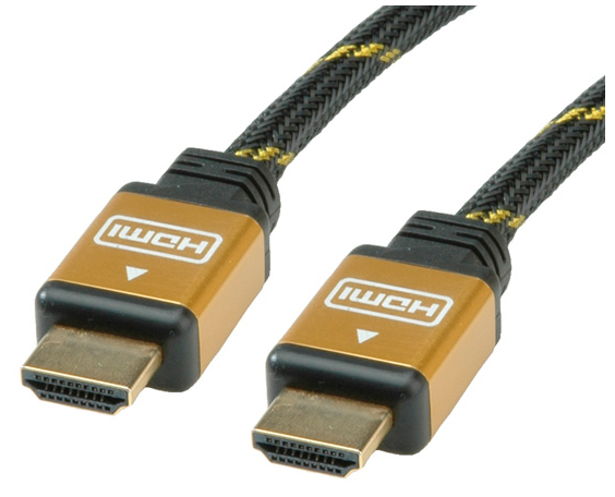 ROLINE GOLD HDMI High Speed Cable, HDMI M - HDMI M 15 m