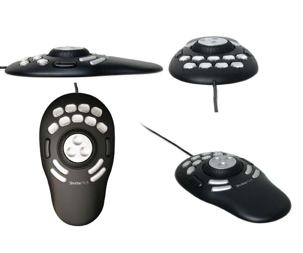 Shuttle-Pro 2 remote control Wired