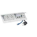C2G 80877 White socket-outlet
