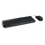 Microsoft Wired Desktop 600 keyboard USB QWERTY Black