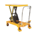 VFM Yellow and Black Mobile Lifting Table 750kg Capacity 329459