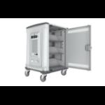 Rocstor VOLT C32 Portable device management cart Grey