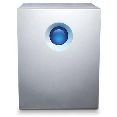 LaCie 5big Thunderbolt 2 disk array 10 TB Desktop White