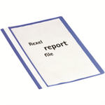 Rexel Report File A4 Blue (25)