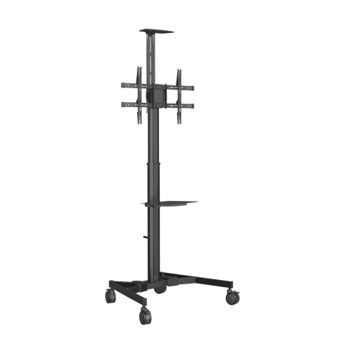 "Vision VFM-F20 flat panel floorstand 177.8 cm (70"") Portable flat panel floor stand Black"