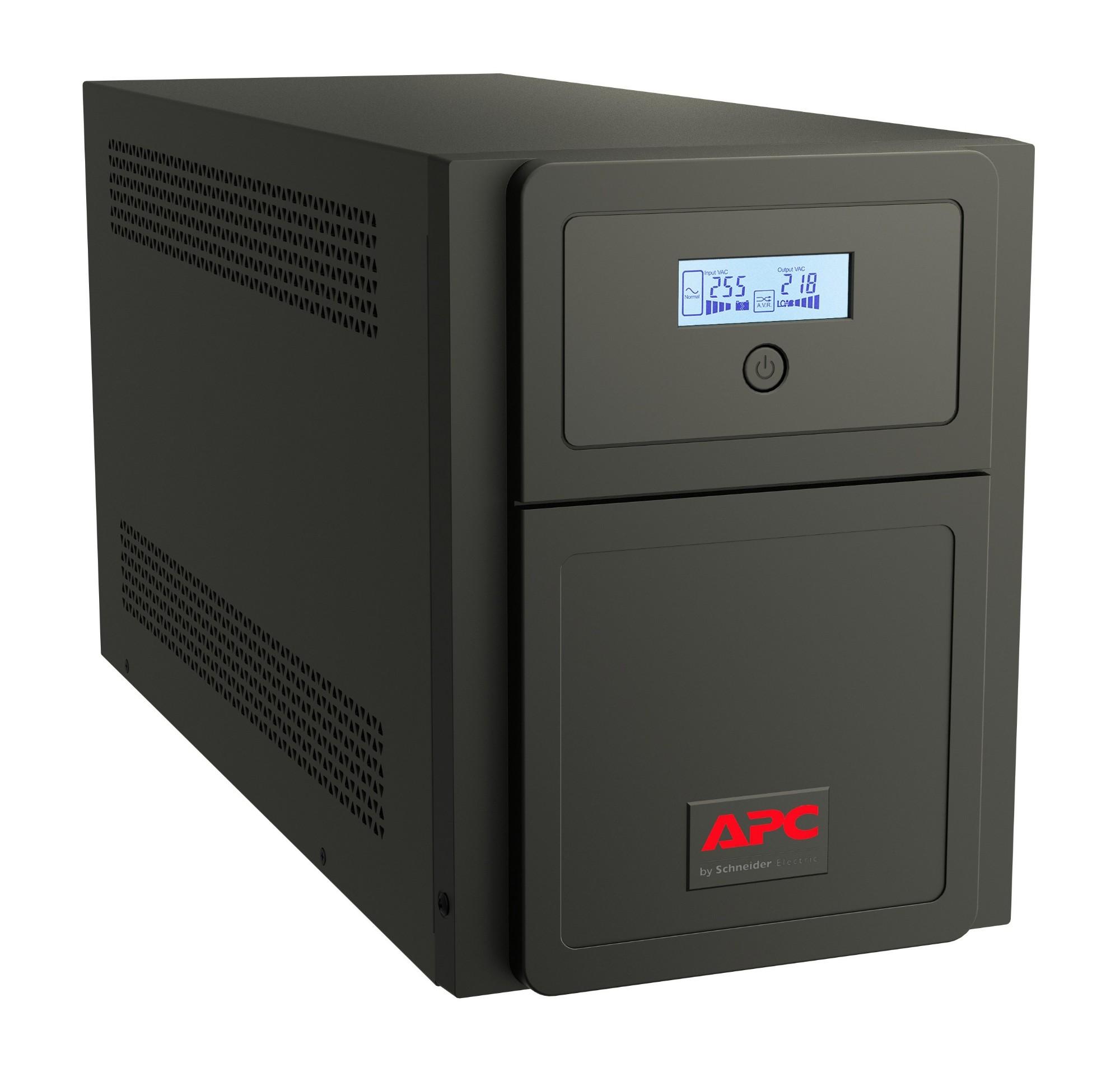 APC Easy UPS SMV sistema de alimentación ininterrumpida (UPS) Línea interactiva 2000 VA 1400 W 6 salidas AC
