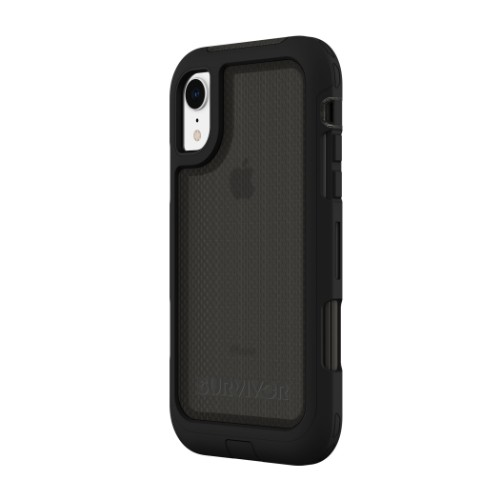 "Incipio Survivor Extreme mobile phone case 15.5 cm (6.1"") Cover Black"