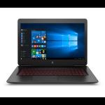 "HP OMEN 17-w220nr 2.8GHz i7-7700HQ 17.3"" 1920 x 1080pixels Black Notebook"