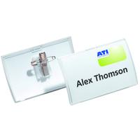 Durable 8214-19 Polypropylene (PP) 25pc(s) identity badge/badge holder