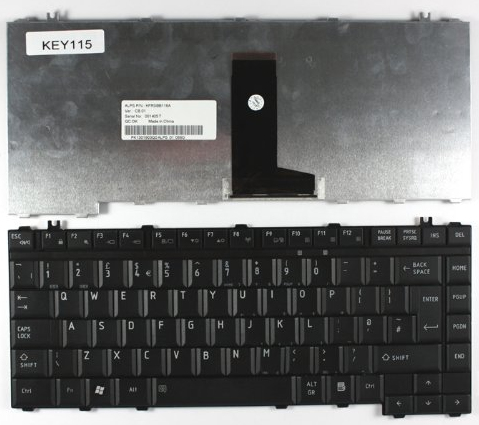 Toshiba V000130390 Keyboard notebook spare part