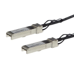 StarTech.com MSA Uncoded Compatible 1m 10G SFP+ to SFP+ Direct Attach Breakout Cable Twinax - 10 GbE SFP+ Copper DAC 10 Gbps Low Power Passive Transceiver Module DAC
