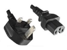 Microconnect BS-1363/C15, 2 m Black BS 1363 C15 coupler