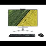 """Acer Aspire C22-320 54.6 cm (21.5"""") 1920 x 1080 pixels 7th Generation AMD A9-Series APUs 8 GB DDR4-SDRAM 1000 GB HDD Wi-Fi 5 (802.11ac) Silver All-in-One PC Windows 10 Home"""