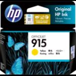 HP 915 1 pc(s) Original Standard Yield Yellow