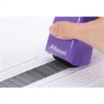 Rexel ID Guard Retractable Ink Roller Perfect Purple