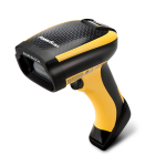 Datalogic PowerScan 9501 Handheld bar code reader 2D Laser Black,Yellow