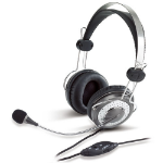 Genius HS-04SU Binaural Head-band Silver