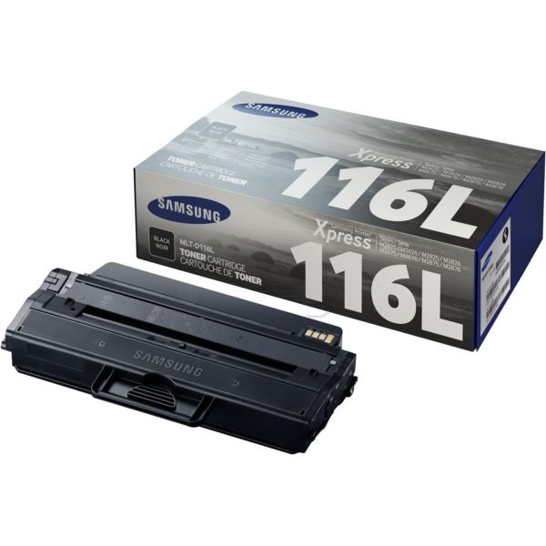 Samsung MLT-D116L/ELS (116L) Toner black, 3K pages