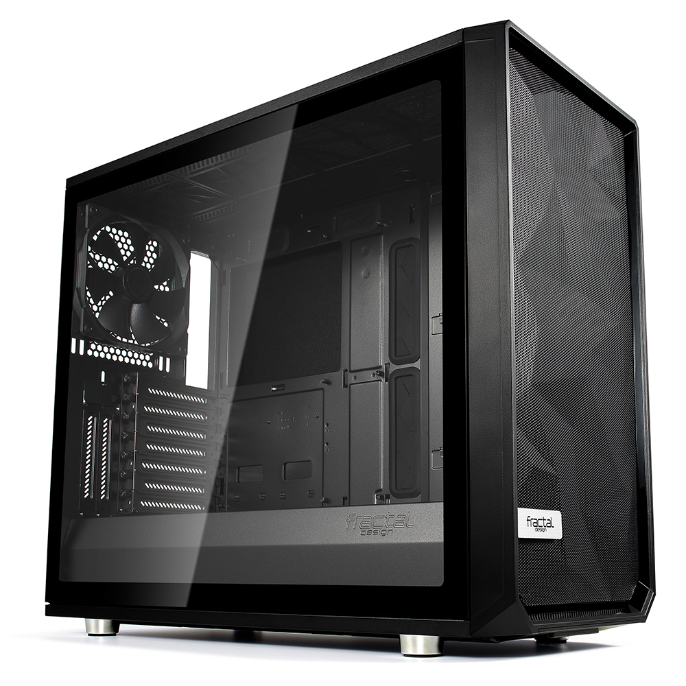 Fractal Design Meshify S2 Black – TG Midi-Tower