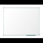 Nobo Pizarra blanca Classic magnética de acero 900x600 mm con marco de aluminio