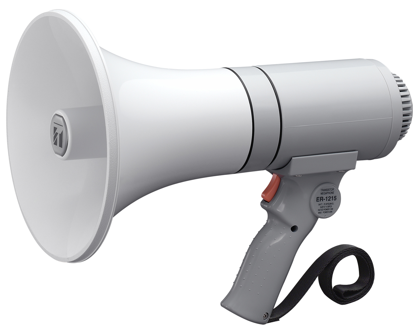 TOA ER-1215 Outdoor 23W Grey megaphone