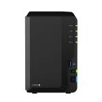 Synology DiskStation DS218+ J3355 Ethernet LAN Desktop Black NAS