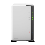 Synology DiskStation DS218J 2BAY 4TB(2X2TB SEA IRON) Ethernet LAN Compact White NAS