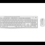 Logitech MK295 Silent Wireless Combo keyboard RF Wireless QWERTY UK International White