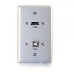 C2G 39874 wall plate/switch cover Aluminium