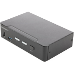 StarTech.com SV231HU34K6 KVM switch Rack mounting Black