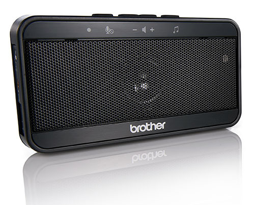 Brother VT-1000 altavoz Universal Negro USB 2.0