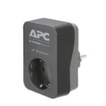 APC PME1WB-GR netstekker adapter Zwart, Grijs