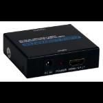 QVS HD-ADE4K audio converter Black