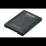 QNAP QDA-A2MAR storage drive enclosure M.2 SSD enclosure Black