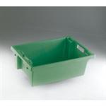 FSMISC STACK/NEST BOX 600X400X200MM GREENEN