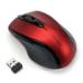 Kensington Ratón inalámbrico Pro Fit tamaño mediano, rojo rubí