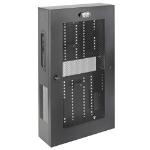 Tripp Lite SRWF6UMOD SmartRack 3U Low-Profile Vertical-Mount Switch-Depth Wall-Mount Structured Wiring Enclosure, Adjustable Equipment Brackets