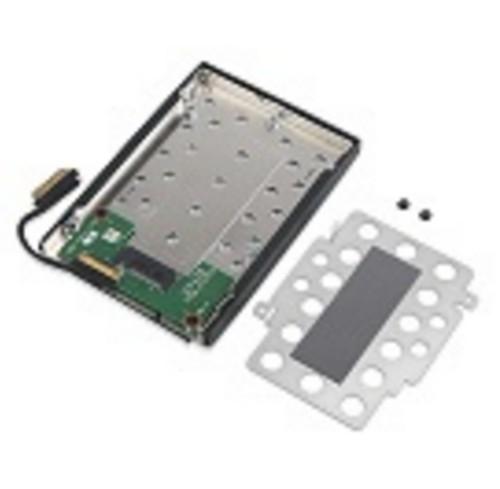 "Lenovo 4XF0N82414 SSD enclosure M.2"" Black,Grey HDD/SSD enclosure"