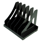 Q-CONNECT KF21692 Plastic Black desk drawer organizer