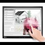 """LG 17MB15T-B monitor pantalla táctil 43,2 cm (17"""") 1280 x 1024 Pixeles Negro Single-touch Multi-usuario"""