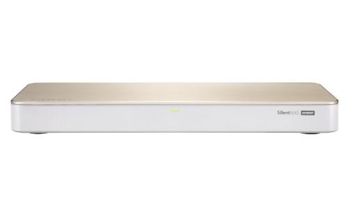 QNAP HS-453DX NAS Tower Ethernet LAN Gold, White J4105