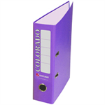 Rexel Colorado Foolscap Lever Arch File Purple (10)