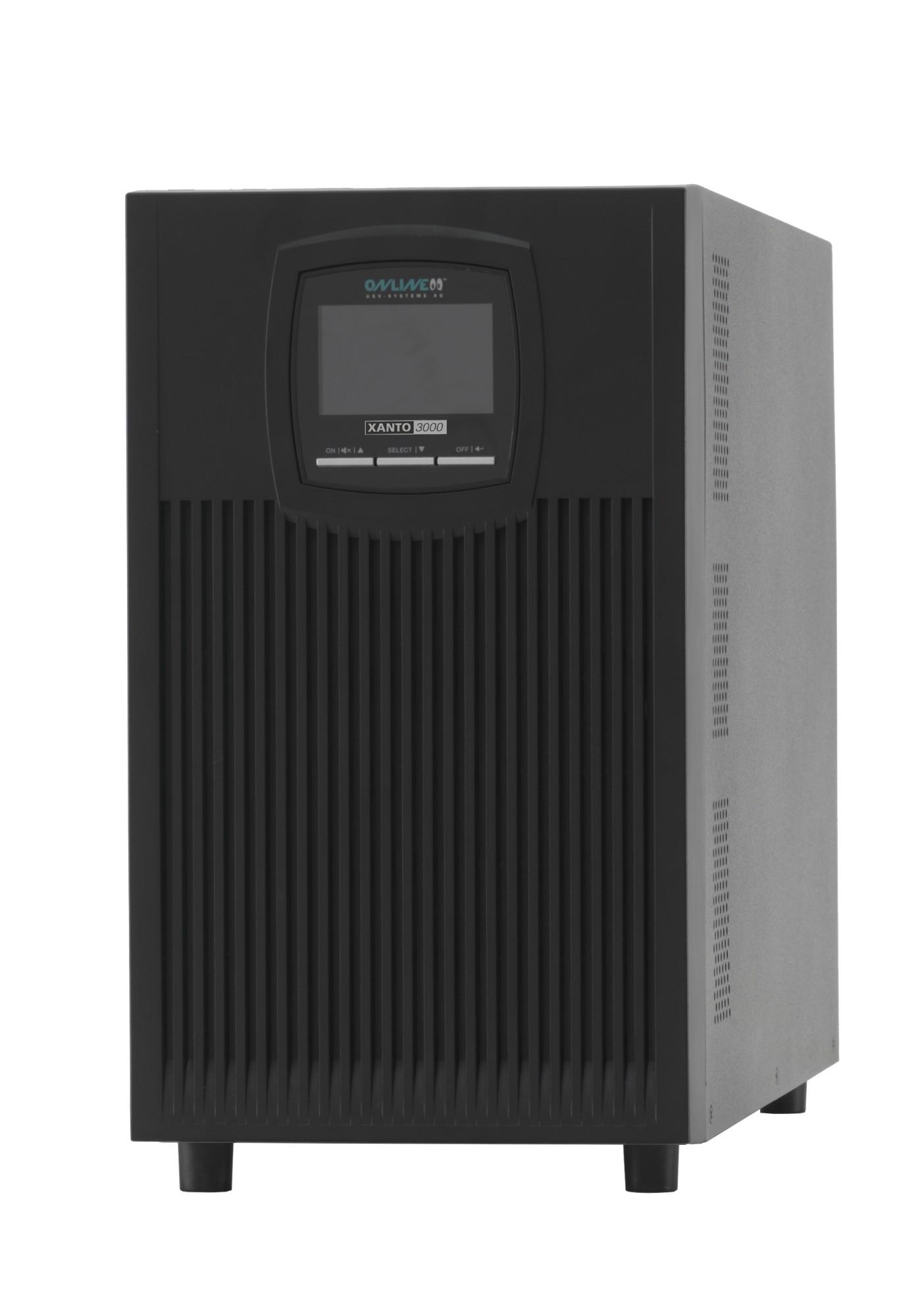 ONLINE USV-Systeme XANTO 3000 uninterruptible power supply (UPS) Double-conversion (Online) 3000 VA