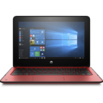 "HP ProBook x360 11 G1 EE Red Hybrid (2-in-1) 29.5 cm (11.6"") 1366 x 768 pixels 1.10 GHz Intel® Celeron® N3350"